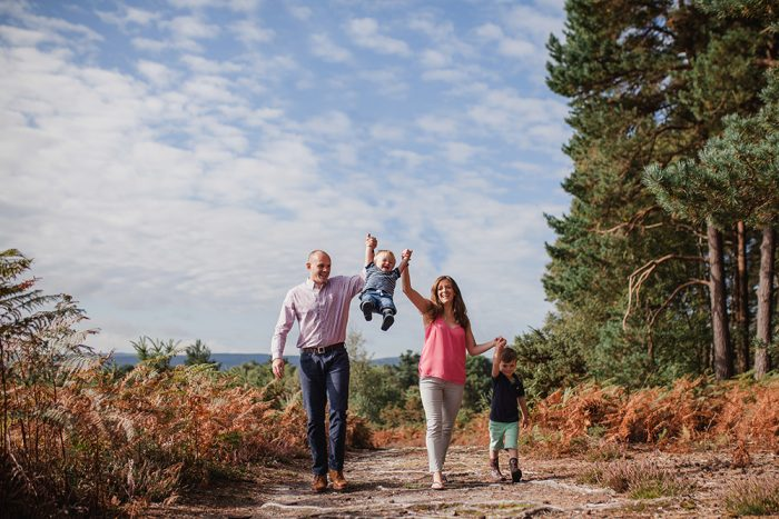 Dorset Family Photos in the Forest