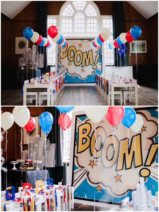 Childrens Superhero party